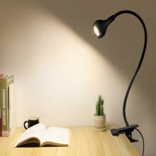 -Flexible Led Table Lamp Usb Desk Holder Clip Bed Study Reading Book Feeding Bulb on JD