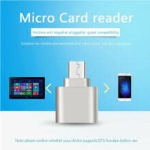 -Mini Portable Card Reader  USB 3.1 Type C Micro SD TF Memory Card Reader OTG Adapter on JD