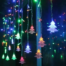 -Christmas Tree Icicle 3.5M String Lights LED BulbsHome Xmas Decoration on JD