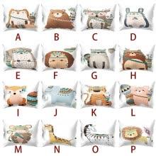 -Print Pillow Case Polyester Sofa Car Cushion Cover Home Decor 30 X 50cm on JD