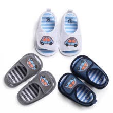 -Baby Newborn Soft Crib Sole Canvas Shoes Boy Girl Kid Toddler Prewalker Sandals on JD