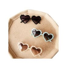health-care-of-five-senses-Kids Toddler Heart Shaped Sunglasses Cute Fashion UV Protection Sun Glass on JD