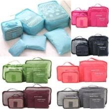 gifts-6Pcs Waterproof Travel Storage Bags Clothes Packing Cube Luggage Organizer Pouch on JD