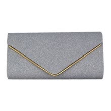 -Womens Shining Envelope Clutch Purses Evening Bag Handbags For Wedding Or Party on JD