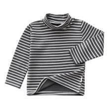 -Baby Boys Girls T-shirts New Casual Turtleneck Children Shirts Long Sleeve Warm Toddlers Kids Fall Clothing Tops Tees on JD
