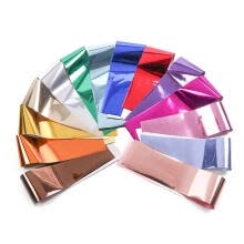 -14pcs Nails Stickers Decals Metal Holographic Transfer Foil for Nail Art on JD
