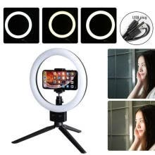 -Dimmable 5500K Lamp Photography Camera Photo Studio Phone Video Ring Lights Camera Accessories on JD