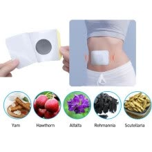 -6Pcs Diabetes Plasters Keep Blood Sugar Balance Pure Natural Herbal Health Care Product on JD