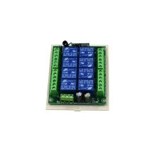 -315MHz Universal Wireless Remote Control Relay Switch DC12V 8CH Relay Receiver on JD