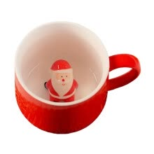 -3D Christmas Ceramic Cup Funny Cute Coffee Mug Perfect Gifts on JD