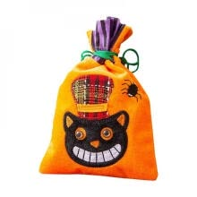 -Drawstring Fabric Bag Jute Gift Bags Jewelry Packaging Wedding Bags with Candy Bag Can Halloween Candy Bag on JD