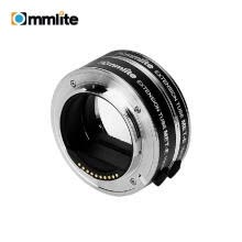 -COMMLITE CM-MET-E Automatic Macro Extension Tube Ring Set 10mm 16mm Auto Focus TTL Exposure Compatible with  E-mount Mirrorless Ca on JD