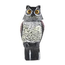 pest-control-Owl Decoy, 360 Rotate Repellent Pest Imitation Bird for Garden Yard on JD