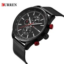 1d1de9a67 CURREN 2016 Brand Luxury Mens Quartz Casual Watch 30M Daily Water-resistant  Man Business Wristwatch W  Calendar Watch for Man