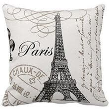 bedding-sets-Cushion Cover Skin-Friendly Tower Letter Printing Stain Resistant Pillowcase on JD