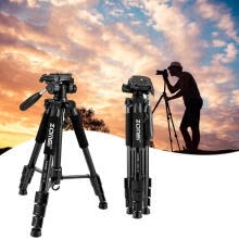 -ZOMEI Q111 55 inch Professional Aluminum Alloy Camera Tripod for DSLR Canon on JD