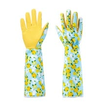-Pruning Gardening Gloves Unisex Long Work Gauntlet Cutting Thorn Proof with Long Cuff on JD