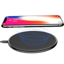 -Qi Wireless Charging Charger Pad for Iphone 8 10 X Samsung Galaxy S6 S7 S8 Edge Note 5 5V1A Mobile Phone Adaptor Charge on JD