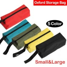 -5pcs Oxford Tool Storage Bag Spanner Pocket Organizer Carry Case Pouch Mix Color on JD