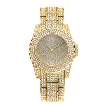 -Women Rhinestone Watches Women Dress watch Diamond Luxury brand Bracelet Wristwatch ladies Crystal Quartz Clocks on JD
