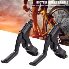 -1 Pair Aluminum Alloy Road Bicycle Brake Levers Brake Disc Cycling Mountain Bike Bicycle Handle Crank Bicycle Part on JD