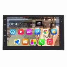 -Panlelo S10 Autoradio 2 Din Android Car Stereo 7' 1024*600 1080P Quad Core 2din Android Head Unit GPS Navigation Audio Radio on JD