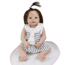 -57 cm Reborn Dolls Full Silicone Vinyl 23'' Girl Realistic Reborn Babies Toys For Christmas Gifts Lifelike Princess Newborn Doll on JD