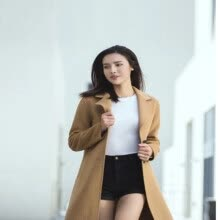 -Xiaomi Youpin DMN High Quality 100% Pure Wool Coat for Women Men Warm Winter Coat Wool Coat Cloth on JD
