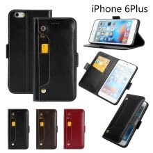 -FEINADE iPhone 6 6S 6SP 7 7P 8 8P X plus Case wallet [COW LEATHER][Card Slot] [Kickstand] Leather Wallet Flip Case for Apple Devic on JD