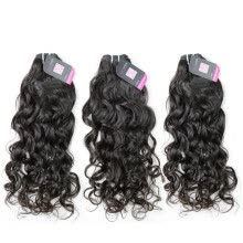 -Superior Grade mix 3 or 4 bundles European natural wave Virgin Human hair extensions on JD