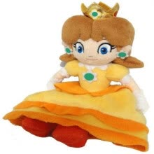 nesting-dolls-Super Mario Bros Series 8in Princess Daisy Stuffed Plush Toy Doll #D on JD