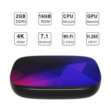 tv-boxes-P68s plus Android BOX 7.1- 4K TV Box 2G+16G WIFI Smart TV BOX WITH REMOTE on JD