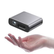 -XIANQI XQ-30 Mobile Phone Projector Home Mini HD Projector (Intelligent System Quad Core CPU 8G Memory Phone Wireless Same Screen Built-in Audio) on JD
