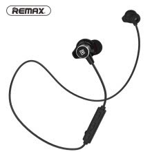 -REMAX Sport Running in ear Bluetooth Wireless Earphone Magnetic Neckband CVC Noise-reduce earphone with Mic for iphone on JD