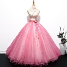 -Vintage Women Quinceanera Dresses Embroidery Ball Gown Classic Party Prom Formal Dress on JD