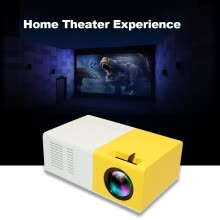 -Mini Pocket LED Projector Portable LCD Projector 400 Lumens 720P/1080P Projection Machine HD AV TF Card Slot With Remote Controlle on JD