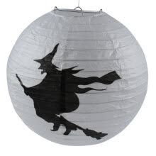 -New Halloween Paper Pumpkin Witch Spider Hanging Lantern Light Lamp Party Decoration Funny Gift on JD