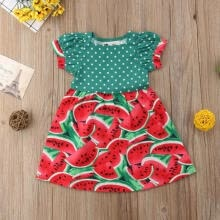 -2019 New Fashion Toddler Infant Kids Baby Girls Summer Dress Princess Party Wedding Tutu Dresses on JD