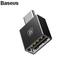 usb-hubs-Baseus Type- C Male to USB Female Cable Adapter Converter For USB C to USB ( Male to Female ) Charger Plug OTG Adapter Converter on JD