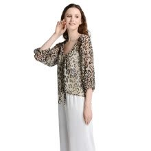 -Di HERA leopard shirt polyester fiber 10245 on JD