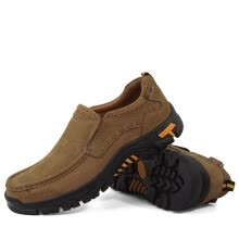 -HengLiang Men's first layer cowhide outdoor hiking shoes 7188 on JD