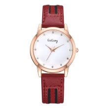 couple-watches-Watch ladies watch rose gold border decoration fashion ladies sports watch on JD