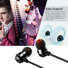 -JBL T280A 3.5mm Wired Headset In-ear Earphone Stereo Music Headphone Hands-free with Microphone Black on JD