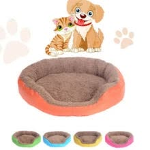 -Pet Dog Cat Soft Bed House Kennel Doggy Puppy Warm Cushion Basket Nest Pad Mat on JD