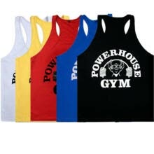 -US Men's Bodybuilding GYM Printed Stringer Tank Tops T-Shirt Singlet Muscle Vest on JD