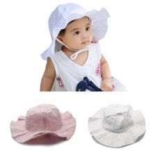 -New Toddlers Infants Baby Girls Summer Hats Straw Sun Beach Caps for Cap 0-3Y on JD