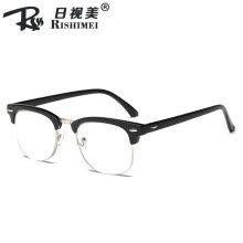 -2019 new retro reading glasses popular simple high-end unisex reading glasses optional degrees on JD