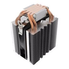 -4pcs Heatpipe Radiator Blue LED Hydraulic Bearing CPU Cooler Fan Heatsink on JD