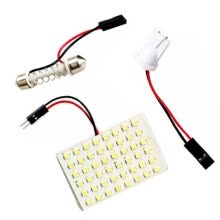 lights-lighting-accessories-SMD 3528 LED Panel White Car Reading Map Lamp  Auto Dome Interior Bulb Roof on JD