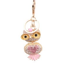-Creative Cute Owl Crystal Keychain Bag Accessories Pendant Diamond Customized Foreign Trade Hot Sale on JD
